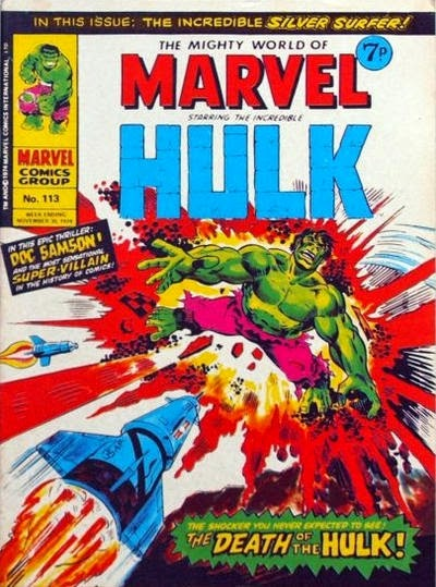 Mighty World of Marvel #113, Hulk
