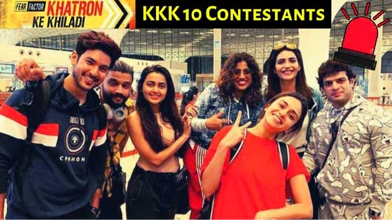 Khatron Ke Khiladi 10 All Confirmed Contestants Revealed