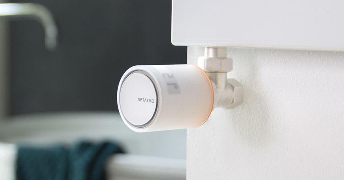 Netatmo radiator thermostats - Moniedism