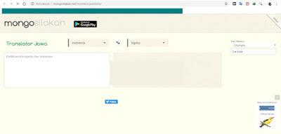 Translate Bahasa Jawa Ngoko ke Krama