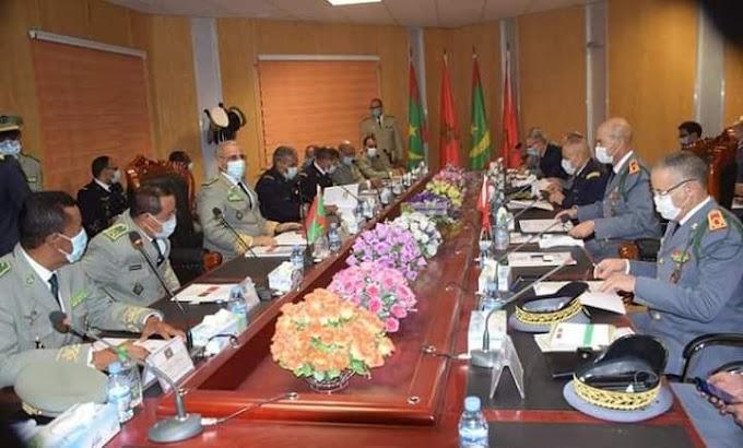 إجتماع ثاني للجنة العسكرية المغربية الموريتانية بالعاصمة نواكشوط.