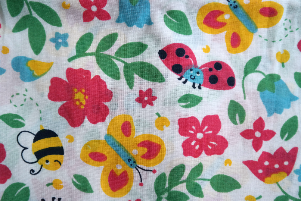 Frugi summer outfit print