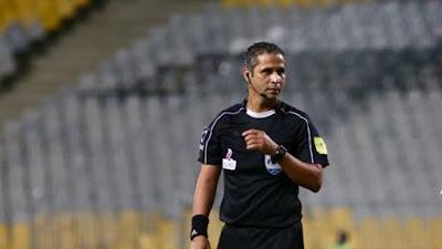 عاجل محمود عاشور حكماٌ لمباراة بيراميدز وبتروجيت فى نصف نهائي كأس مصر