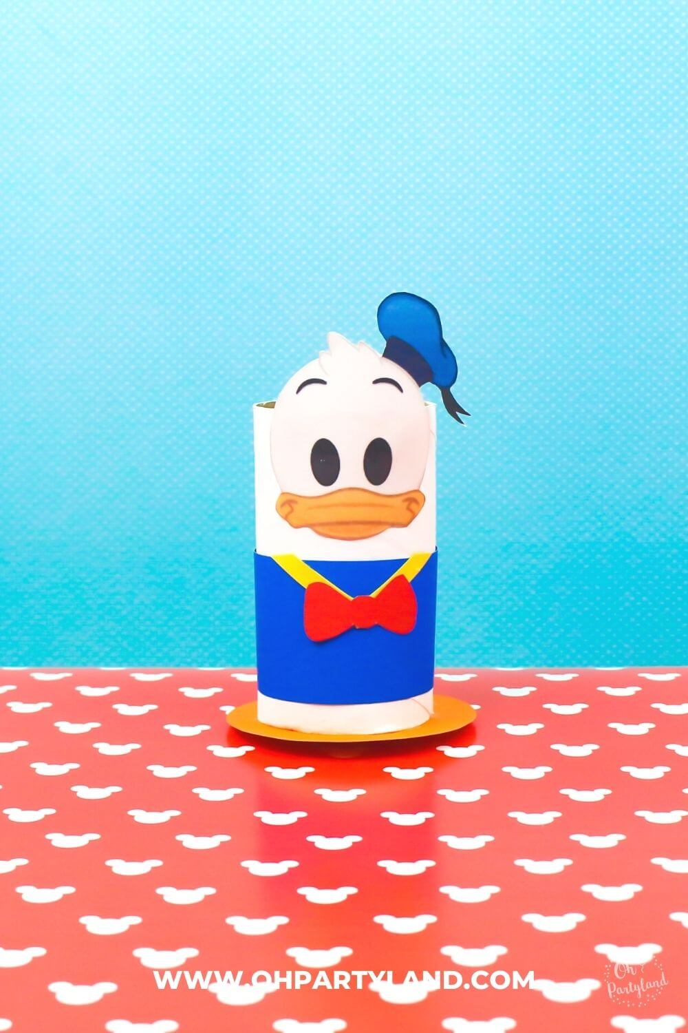 toilet-paper-roll-donald-duck-craft