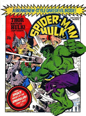 Spider-Man and Hulk Weekly #411, Hulk vs Thor