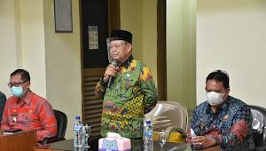 Bupati Lampung Timur Beri Sambutan Dalam Acara Sertijab Dinas Pendidikan dan Kebudayaan