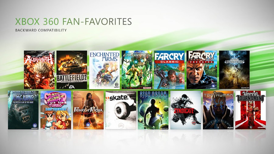 xbox one backward compatible games xbox 360 microsoft