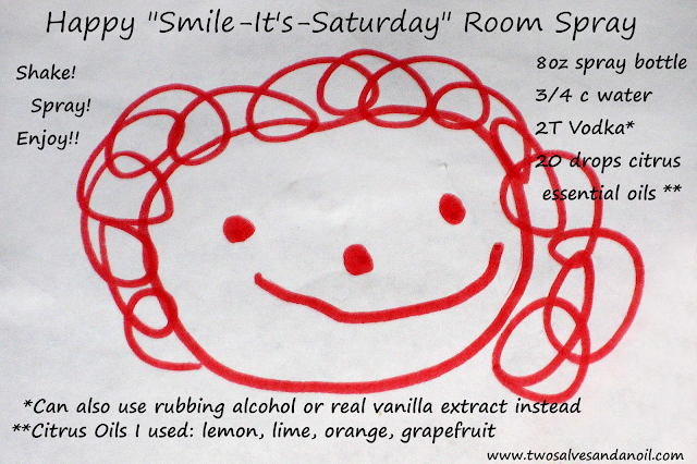 "Happy ""Smile It's Saturday"" Room Spray"