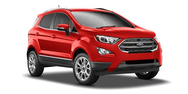 New 2017 Ford EcoSport Red Pics Hd