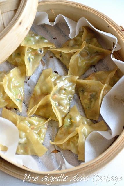 Raviolis vapeurs végétariens / veggie dumplings