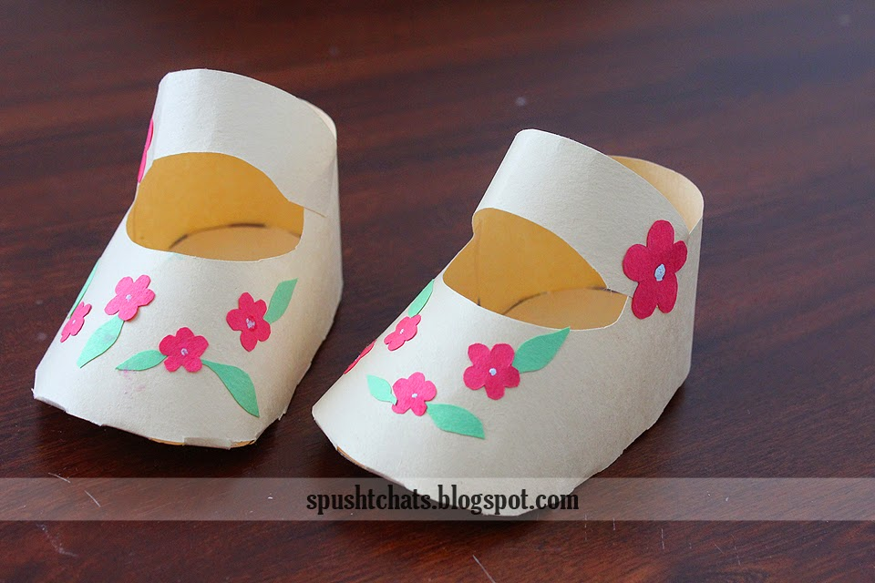 Baby Shoe Template For Card Making