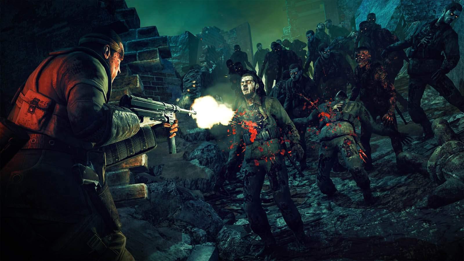 تحميل لعبة Zombie Army Trilogy مضغوطة برابط واحد مباشر كاملة مجانا