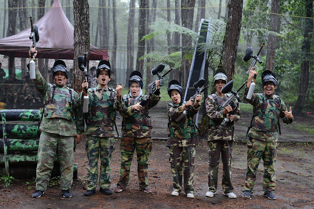 OUTBOUND LEMBANG | Paket Paintball Murah