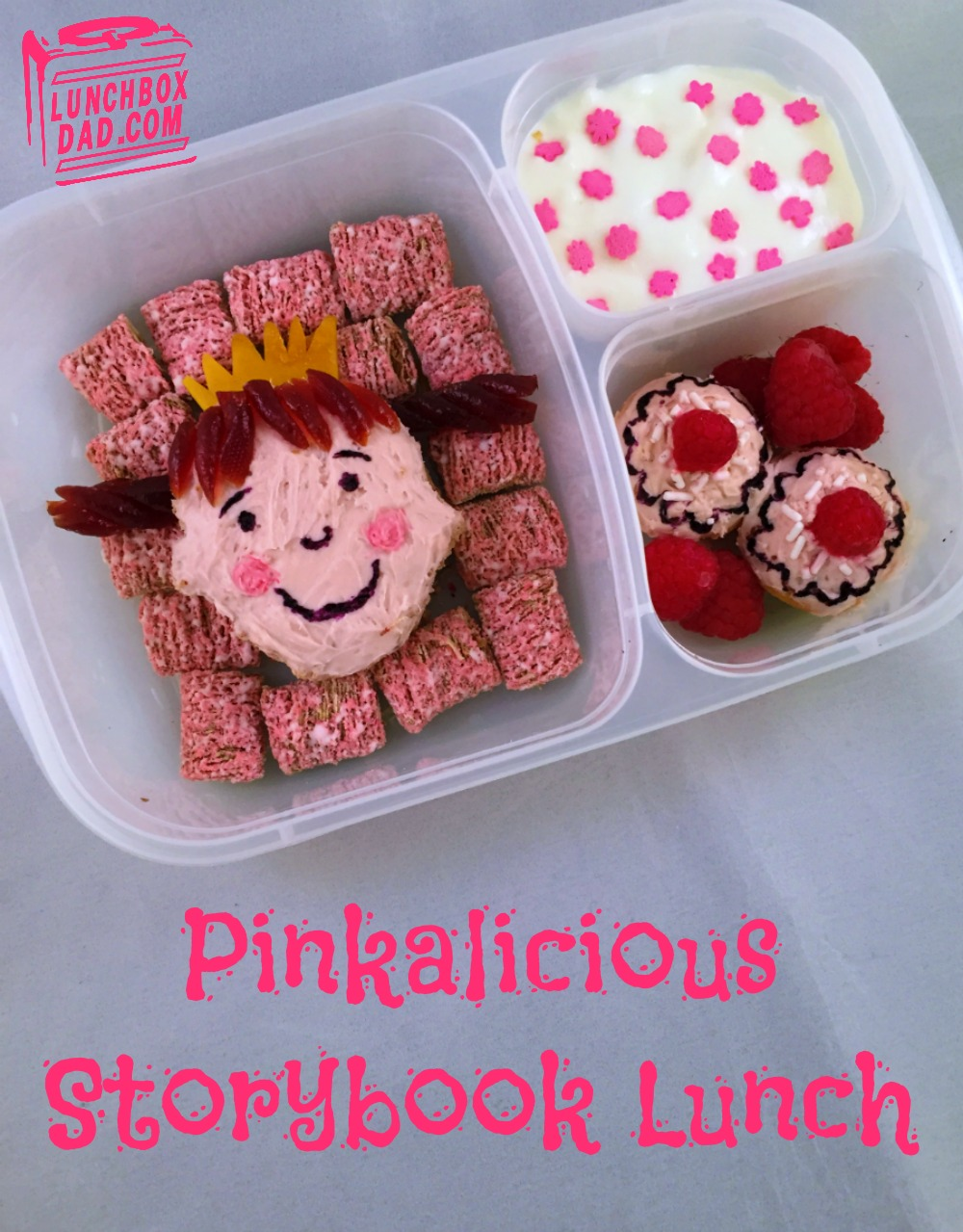 Pinkalicious book lunch