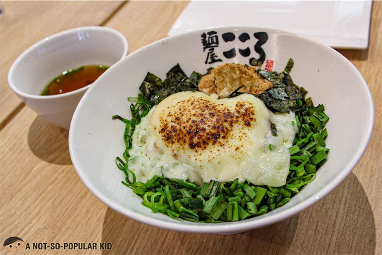 Cheese Mazesoba of Menya Kokoro in Uptown Mall, BGC