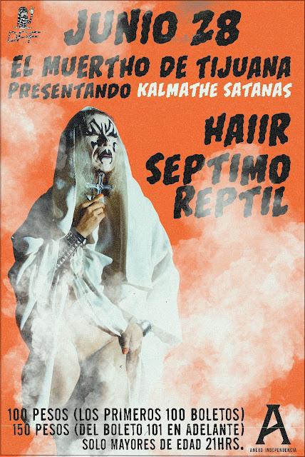 El Muerto de Tijuana kalmathe Satanas