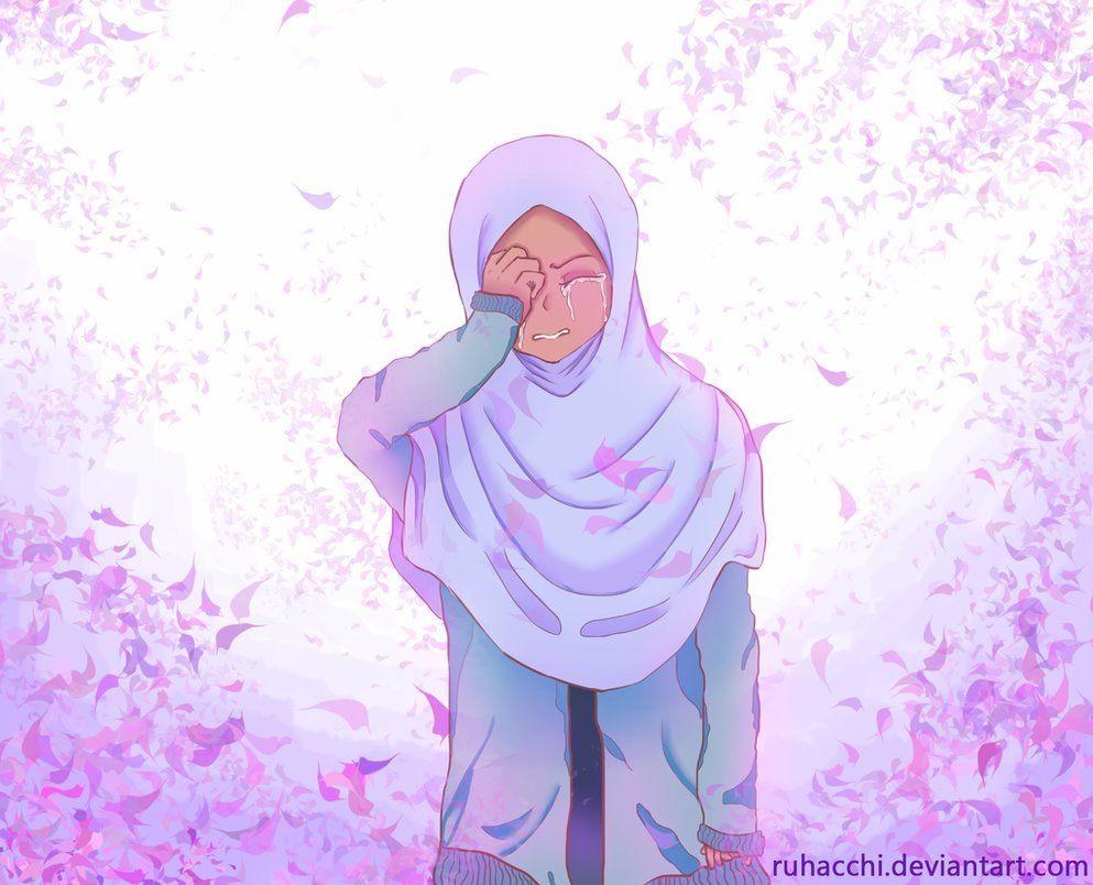 Kumpulan Kartun Hijab Sedih Blog Ely Setiawan