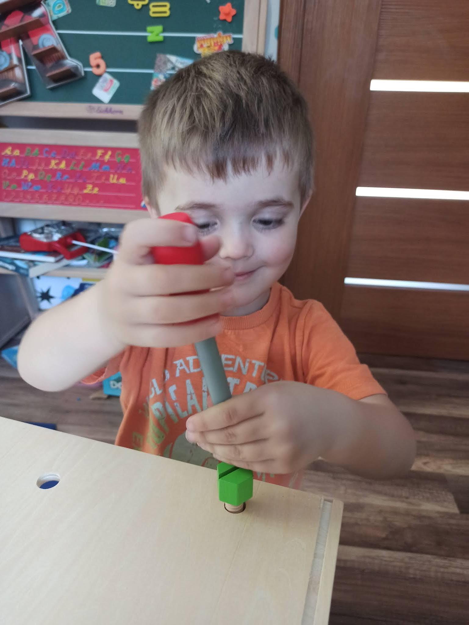 Warsztat drewniany dla dzieci