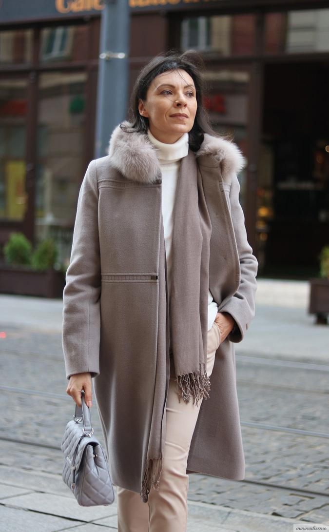 Zimowe płaszcze z wełny