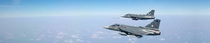 Tejas Successfully Test-Fires DERBY Air-To-Air Beyond Visual Range Missile