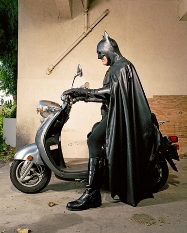 Batman On A Motorbike