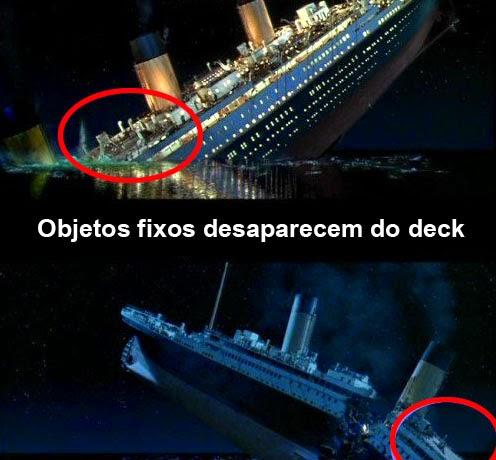 Titanic erros