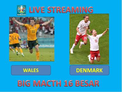10+ Link Live Streaming Euro 2020 WALES VS DENMARK Berlangsung Di Stadion Amsterdam ArenA