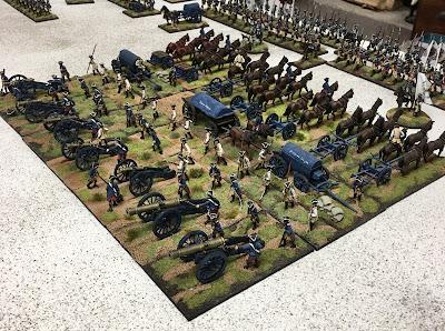 Fritz Expands His Artillery Park. Yikes!