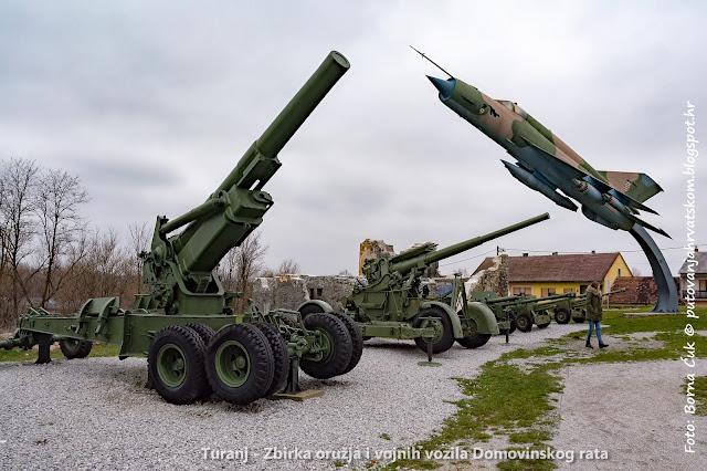 Turanj - zbirka oružja i vojnih vozila Domovinskog rata
