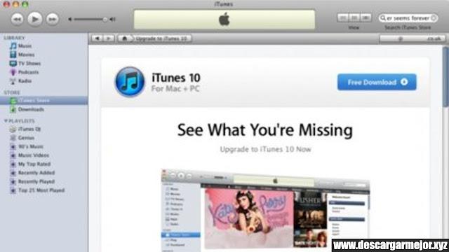 Descargar iTunes