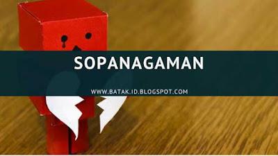 Lirik Sopanagaman
