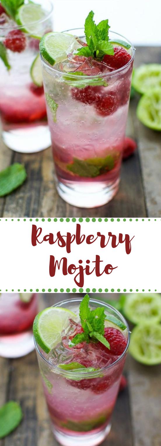 RASPBERRY MOJITO #raspberry #drink #healthyrecipe #smoothie #cocktail