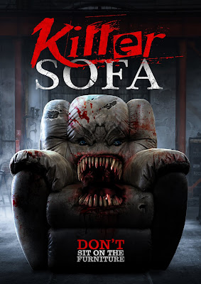 Poster art for KILLER SOFA - Don't Sit On the Furniture!