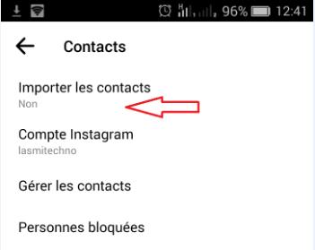 كيفية تعطيل اقتراح الأشخاص المسجلين في contacts الخاص بك في  messenger