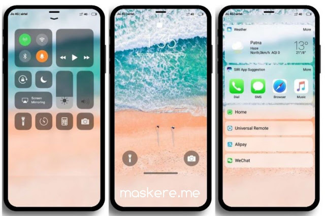 Tema Xiaomi iOS 12 MIUI 10