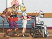لعبة زومبى فى المستشفى