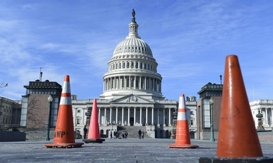 First day of government shutdown ends in standoff