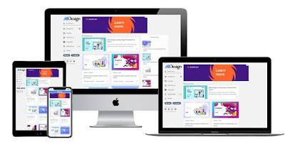 MSD Grid Premium Blogger Template Free Download