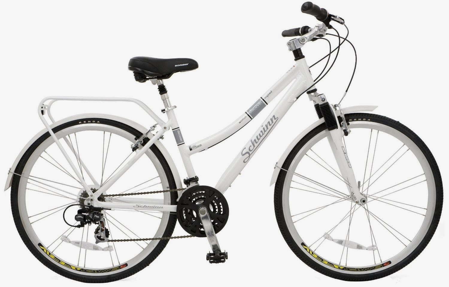 Schwinn Discover Women's Hybrid Bike, 700c wheels, picture, review features & specifications
