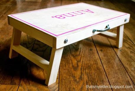 table leg nuts ana white folding lap desk diy projects