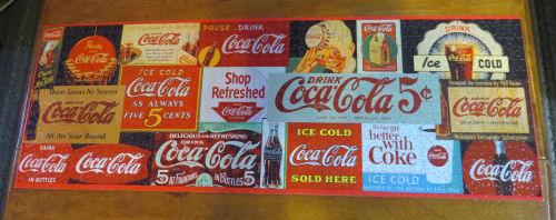 coke sign puzzle