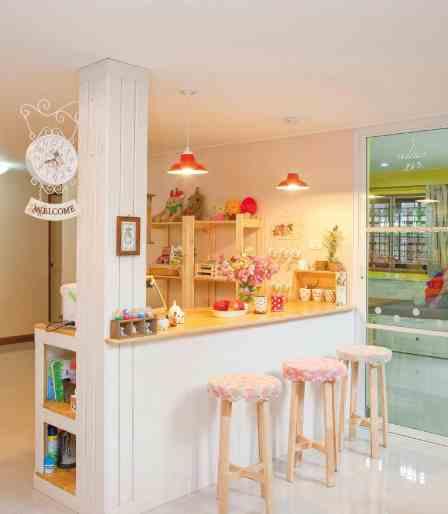 warna cat dan wallpaper ruangan dapur minimalis sederhana, moodern
