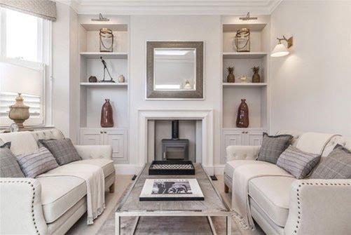cmo decorar un living moderno adaptado a las nuevas tendencias en la decoracin - Decorar Salon Cuadrado