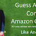 Guess Who's Coming To Amazon Contest