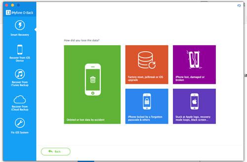شرح برنامج iMyFone D-back كامل لإسترجاع و إستعادة ملفات ايفون المحذوفة
