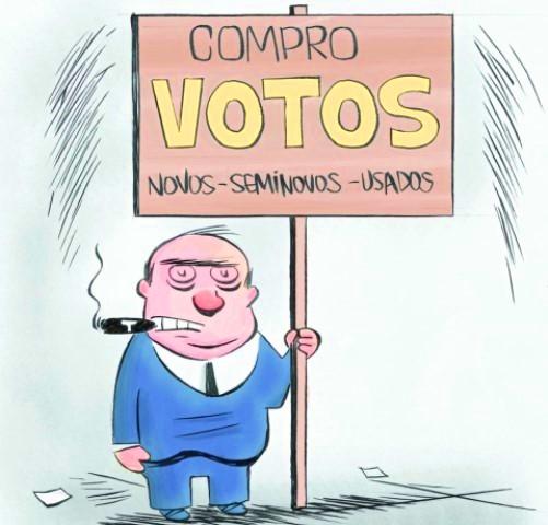 compra de voto em Itapetinga