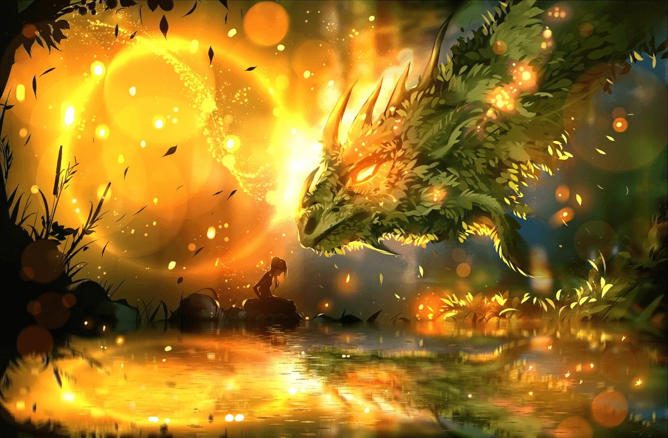 Dragon Wallpaper Desktop Full HD 3D, 4K Ultra.