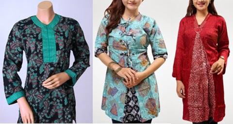 gambar model baju kerja guru wanita gemuk