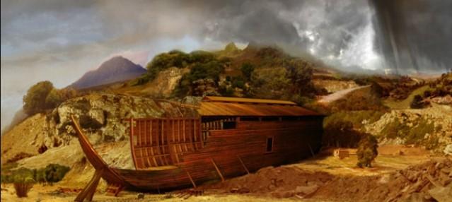 كم استغرق بناء سفينة نوح