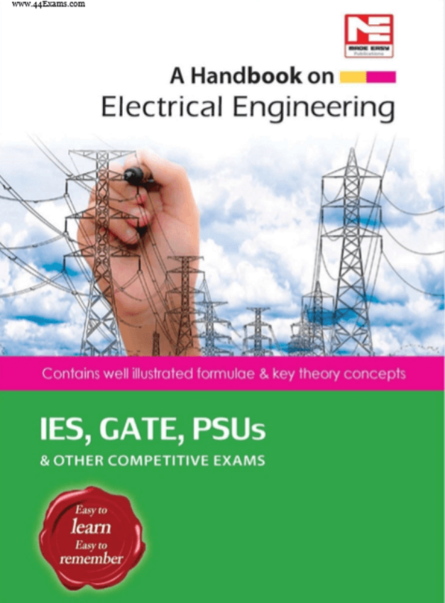 A Handbook on Electrical Engineering : For Gate Exam PDF Book